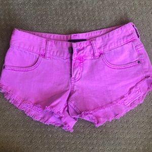 Billabong Jean shorts - Fushia